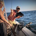 Year in Review. Catching black sea bass in Narragansett