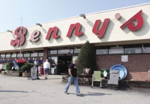 Benny's was a classic shopping experience right to the end.