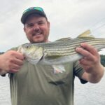 Aaron Flynn striper and largemouth bass fisherman