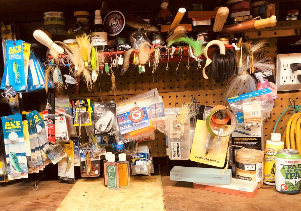winter is time to purge some gear in the fishing section